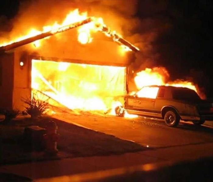 Fire Damage Garage Fire Safety Tips